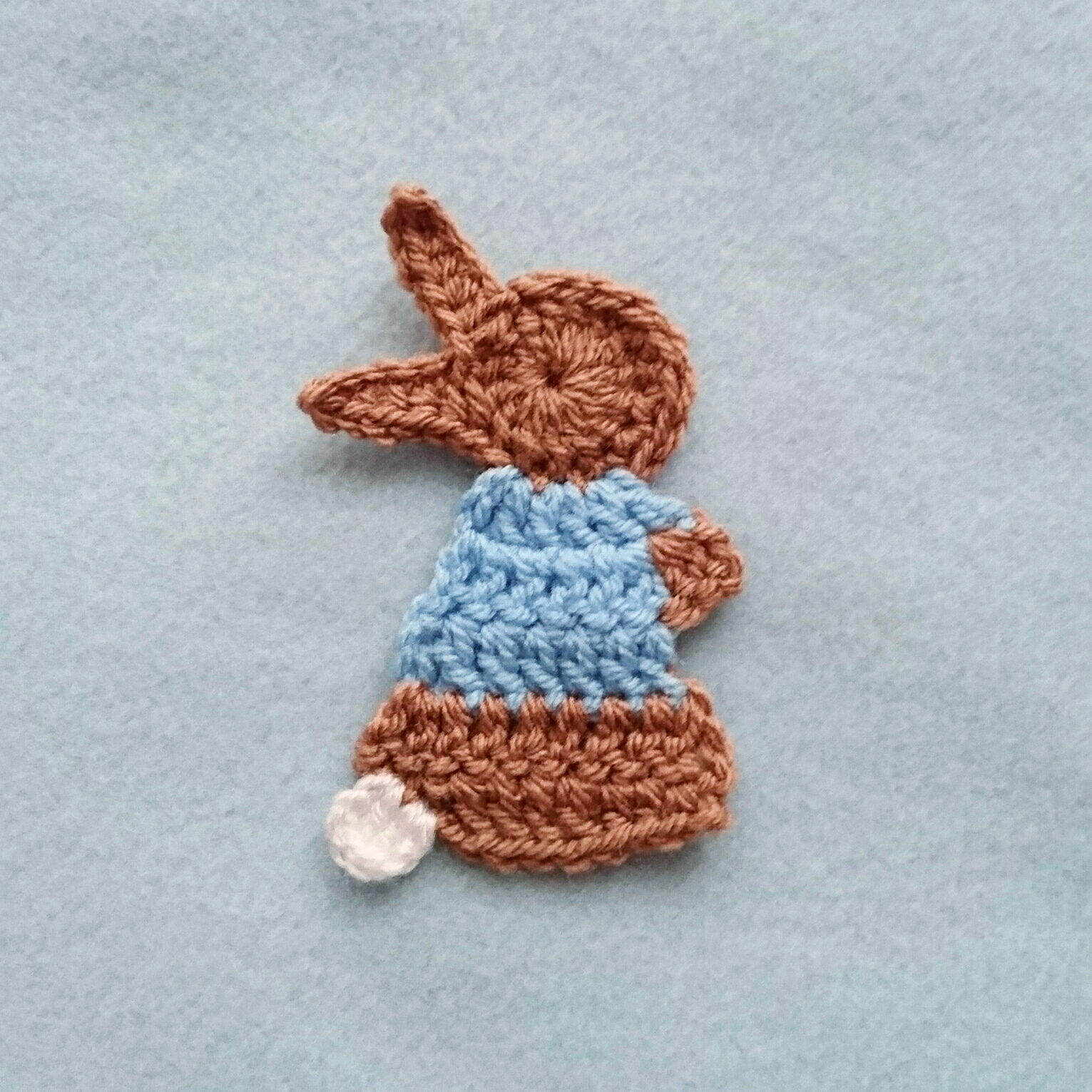 L is for Lamb: Crochet Lamb Applique - Repeat Crafter Me | 1531x1531